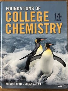 Foundations of College Chemistry 14th Ed