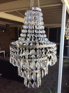 Hanging chandalier/ lamp shade new in box