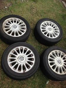 """COMMODORE STATESMAN 16"""" inch FACTORY ALLOY WHEELS & TYRES Guildford Parramatta Area Preview"""