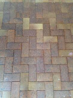 FREE: Approx 55m2 of pavers from undercover patio and path. Menai Sutherland Area Preview