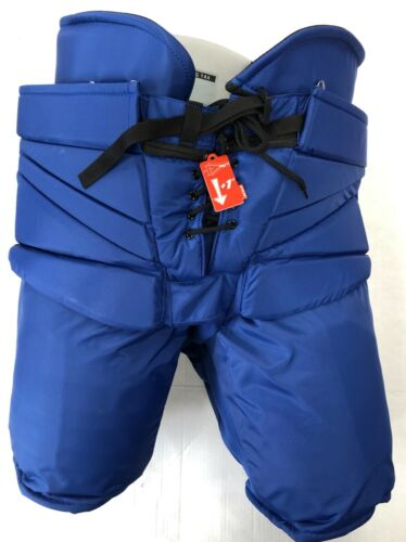 New CCM Pro Stock Toronto Maple Leafs hockey goalie pant blue XL HPG14A Fit 3 +2
