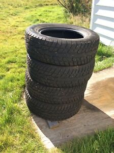Snow tires only used half a season 225/65/16