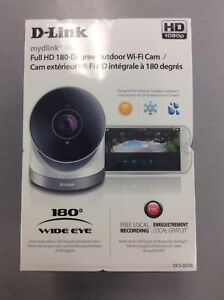 D-Link HD 180-Degree Outdoor Camera - BRAND NEW