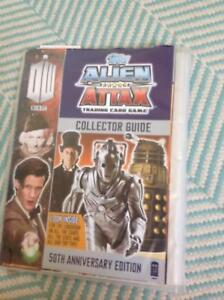 Doctor Who trading cards and folder
