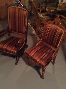 Antique Chair and Rocker