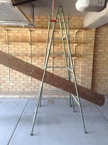Painters trestles and Oregon Plank Quinns Rocks Wanneroo Area Preview
