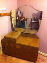 Dressing Table retro with mirror Blackheath Blue Mountains Preview