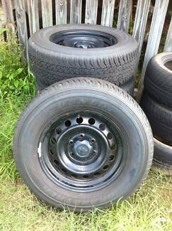 4 x Rims and Tyres (265/65/r17)