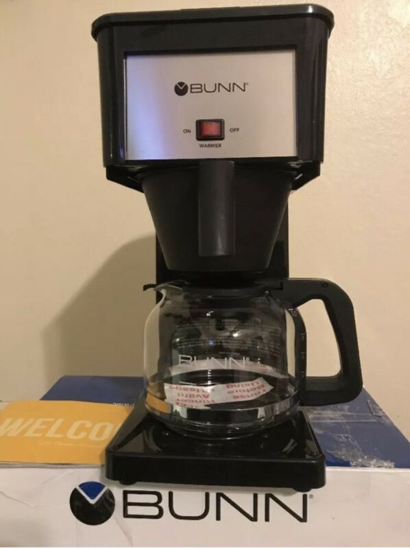 BUNN GRB Velocity Brew Orignal 10-Cup Coffeemaker Black GRX-B