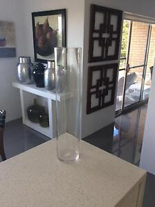 Tall glass vase Hamilton Brisbane North East Preview