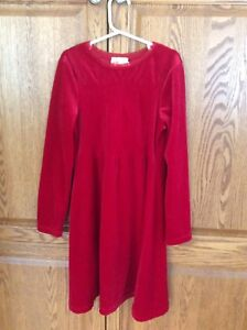 Super Soft Red Dress - Girls Size 12