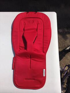 Bugaboo Bee Plus red seat cover - Excellent condition