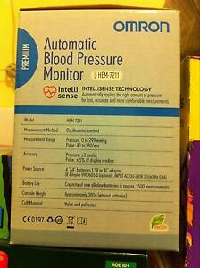 Omron premium blood pressure monitor Caroline Springs Melton Area Preview