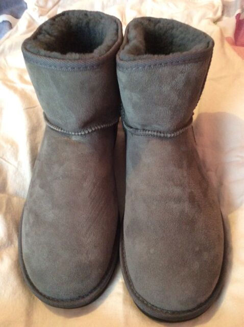 07738e1cc40 As New ! Unisex Opal Ugg Boots (Charcoal/ Blue Grey)