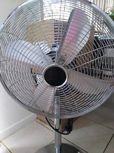 Extra large silver fan