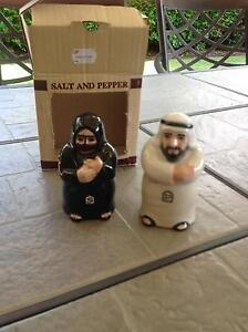 Novelty Salt & Pepper shakers from Dubai Abbotsbury Fairfield Area Preview