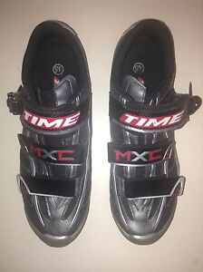 Time MXC Cycling Shoes Size 45 or 11.5 US