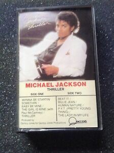 Michael Jackson - Thriller - Audio Cassette