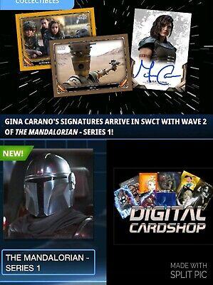 Topps Star Wars Card Trader The MANDALORIAN Series 1 Wave 2 40 Card Bronze Set