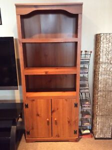 Bookcase/Display Cabinet (2)