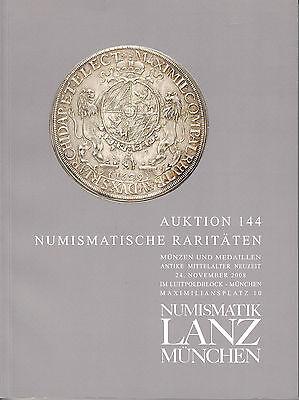 LANZ AUKTION 144 Katalog 2008 Münzen Antike  Neuzeit Mittelalter Bleisiegel ?144