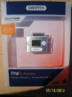 Griffin Itrip Wireless Fm Transmitter For Ipod Nano Classic Touch Mini