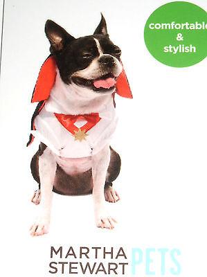 BRAND NEW DRESS MARTHA STEWART PET DOG MS DRACULA COSTUME HALLOWEEN XS X-SMALL