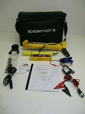 Schonstedt Xt 82 Khz 512hz Sondecablepipe Utility Line Tracer Magnetic Locator