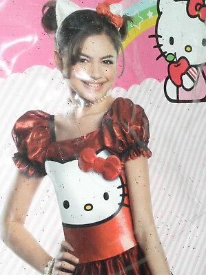 NEW HELLO KITTY DRESS Toddler SMALL 3-4 SM S Child Halloween Costume FREE SHIP](Hello Kitty Halloween Costume Child)