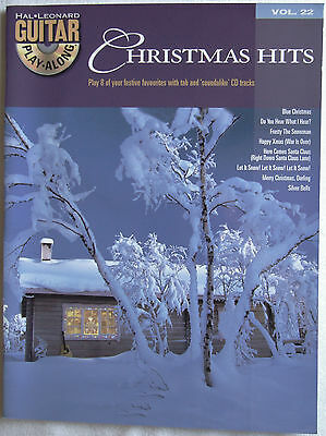 Christmas Hits, Hal Leonard Guitar Play-Along Vol 22 (+ CD) Music Book/Songbook