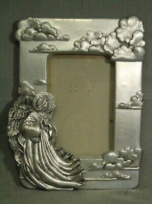 Kostüm Rahmen Renaissance Engel Bild Fotorahmen Silber Vintage United - Engel Kostüm Bilder