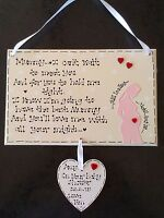 Personalised Baby Mummy To Be Pregnant Bump Baby Shower Gift Plaque - handmade - ebay.co.uk