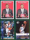 Rookie Derrick Rose Basketball Trading Cards Lot