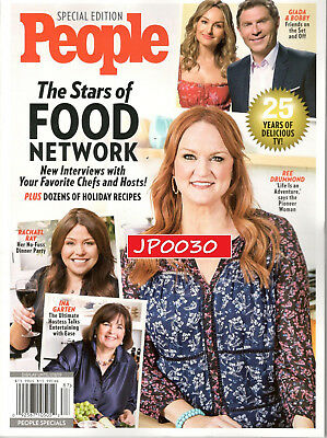 People Special Edition 2018, The Stars of Food Network, Brand New,Factory Sealed