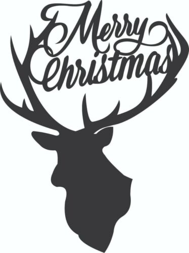 CNC Vector DXF Plasma Router Laser Cut DXF-CDR Files - Merry Christmas