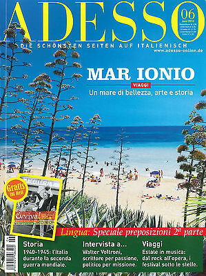 ADESSO, Italienisch-Magazin, Ausgabe Juni 6/2010 +++ wie neu +++