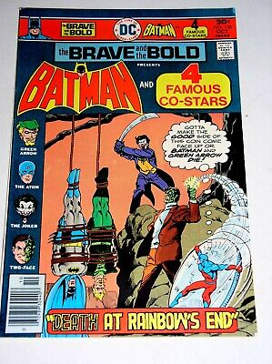 BRAVE AND THE BOLD #130  BATMAN VS. THE JOKER AND TWO-FACE 1976 - Joker And Two Face