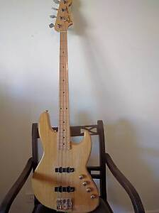 amazing Fender Jazz bass with active pickups Nundah Brisbane North East Preview