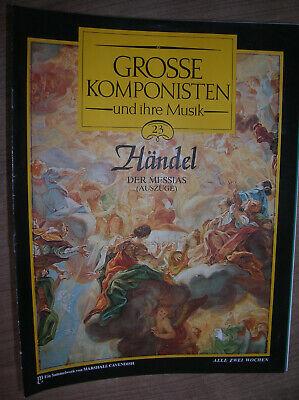 mponisten und ihre Musik Nr.23 Händel  Der Messias (Auszüge) (Zeitschriften Großhandel)