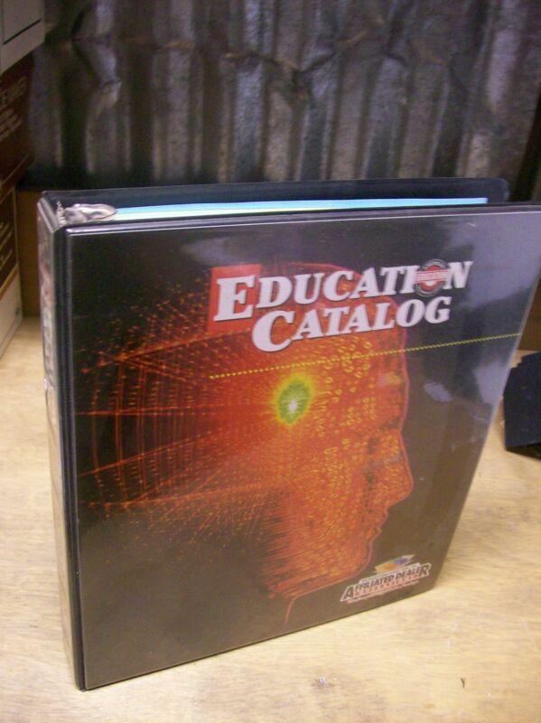 2000 Bridgestone / Firestone Education Catalog Affiliated Dealer Operations