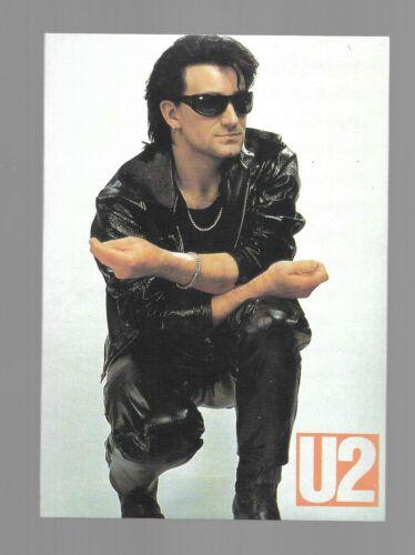 U2-BONO-STICKER 4X6-EXCELLENT CONDITION