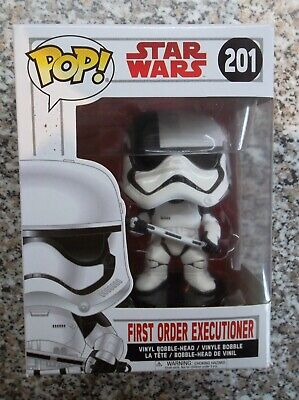 Star Wars First Order Executioner Funko Pop! Vinyl Bobble Head Figure #201
