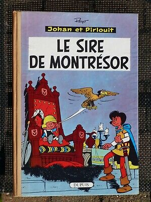 Johan et Pirlouit, Le sire de Montrésor, EO franç./NEUF-ETAT EXCEPTIONNEL !