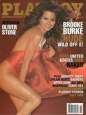 Playboy Magazine Brooke Burke November 2004 Factory Sealed