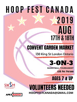 Volunteers needed for Sport Event