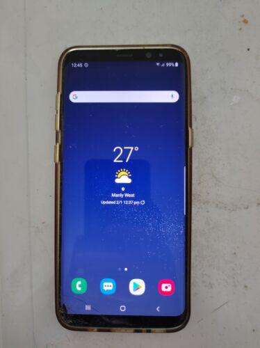 Android Phone - Samsung Galaxy S8+ - 64GB - Midnight Black Smartphone