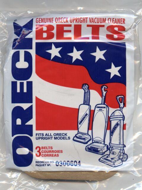 Genuine ORECK XL Upright Drive Belt XL100 XL200 XL888 XL988 Pack of 3 Belts
