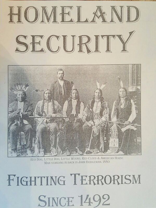 THE GATHERING 1883  AND  HOMELAND SECURITY Fighting Terrorism Since 1492
