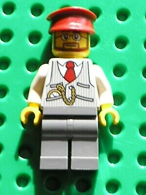 Personnage controleur LEGO TRAIN Christmas Train Ride driver / Set 40262
