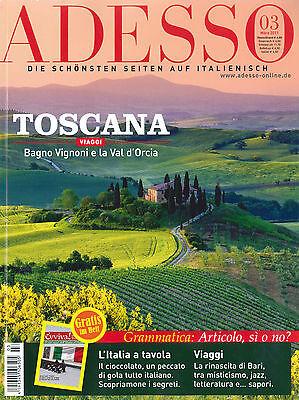 ADESSO Italienisch-Magazin, Ausgabe März 03 / 2011 +++ wie neu +++